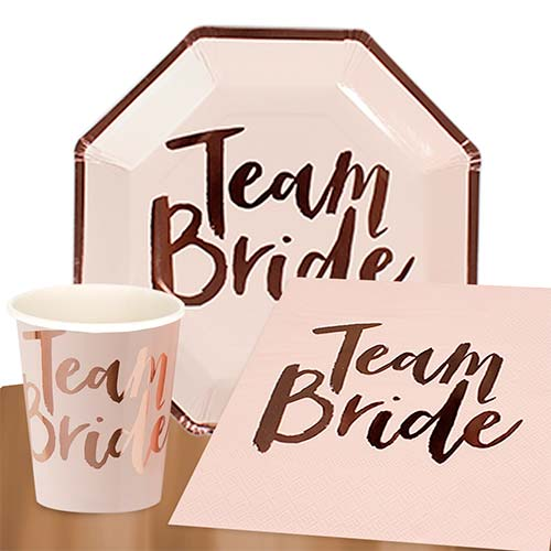 Team Bride 8 Person Value Party Pack