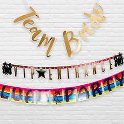 Themed Party Banners