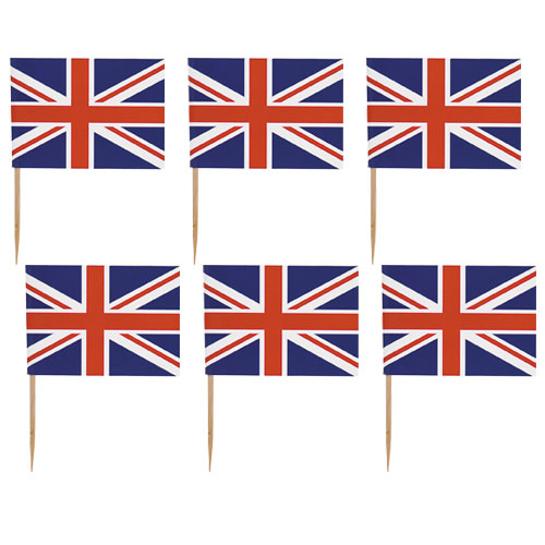 Best of British Union Jack Flag Picks - Pack of 30