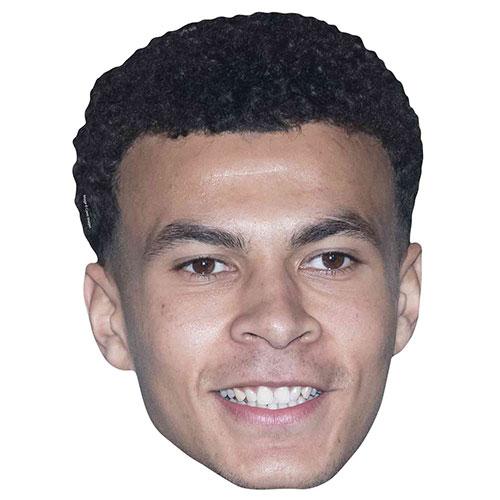 Dele Alli Cardboard Face Mask