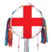 St George's Day England Flag Pull String Pinata