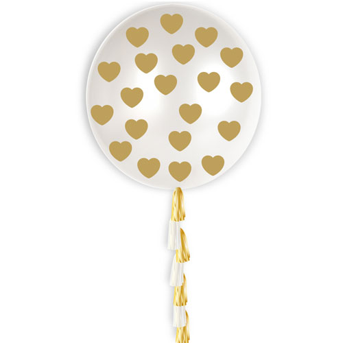 gold-heart-confetti-with-tassel-jumbo-latex-balloon-91cm-product-image