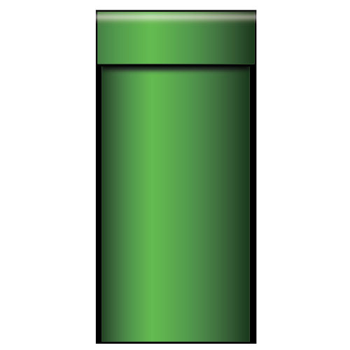 green-pipe-small-pvc-party-sign-decoration-76cm-x-60cm-product-image