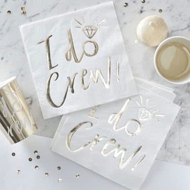 I Do Crew Party Supplies Category Image