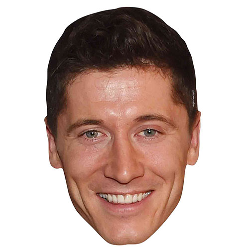 Robert Lewandowski Cardboard Face Mask