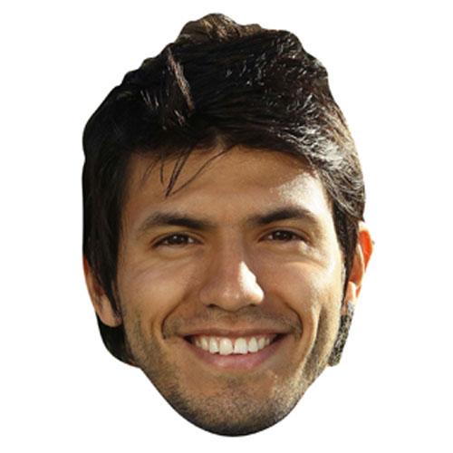 Sergio Agüero Cardboard Face Mask