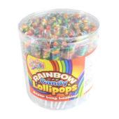 Spiral Rainbow Candy Lolly 10g – Pack of 75