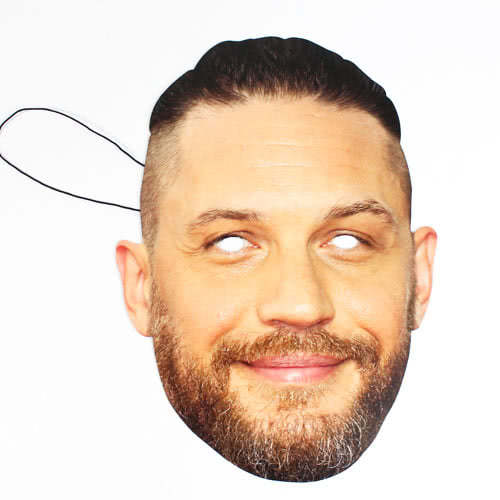 Tom Hardy Cardboard Face Mask