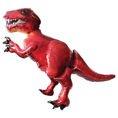 Tyrannosaurus Rex Dinosaur Airwalker Foil Helium Balloon 172cm / 68Inch