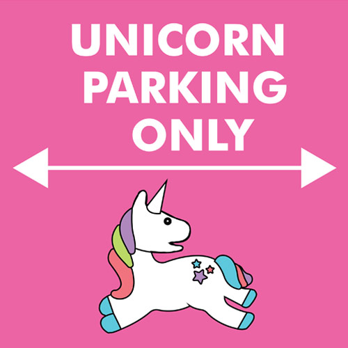 unicorn-parking-only-sign-product-image