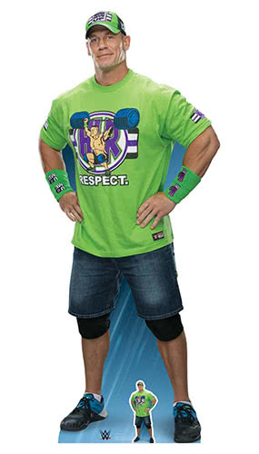 WWE John Cena Pose Lifesize Cardboard Cutout 184cm Product Gallery Image