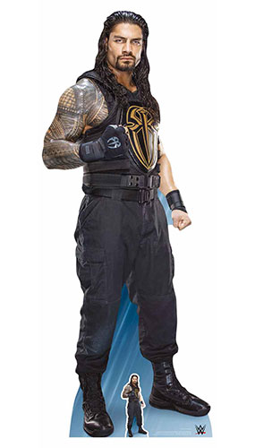 WWE Roman Reigns Lifesize Cardboard Cutout 189cm Product Gallery Image