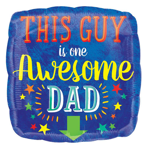 awesome-dad-square-foil-helium-balloon-43cm-17inch-product-image