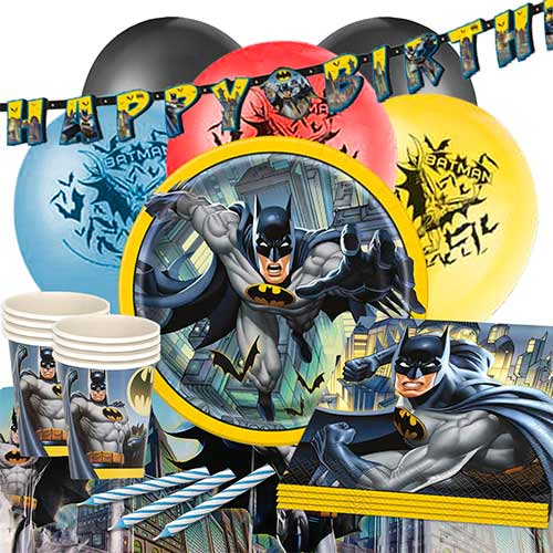 Batman 16 Person Deluxe Party Pack