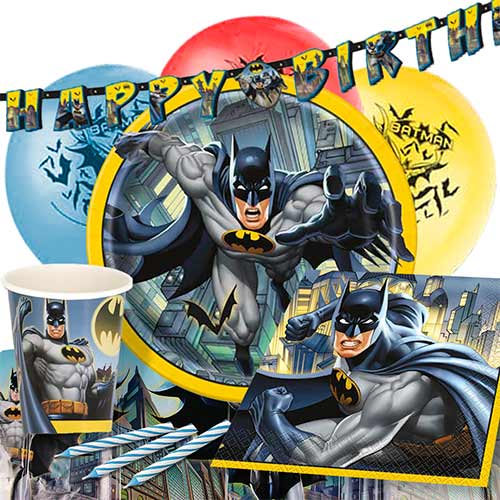 Batman 8 Person Deluxe Party Pack