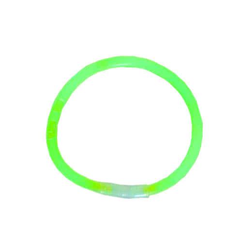 Green Glowing Party Bracelet 20cm