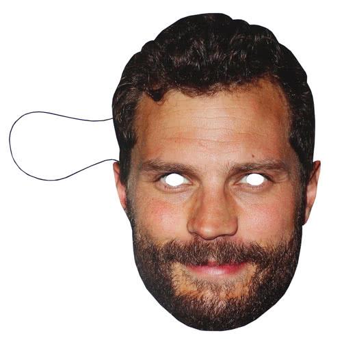Jamie Dornan Cardboard Face Mask