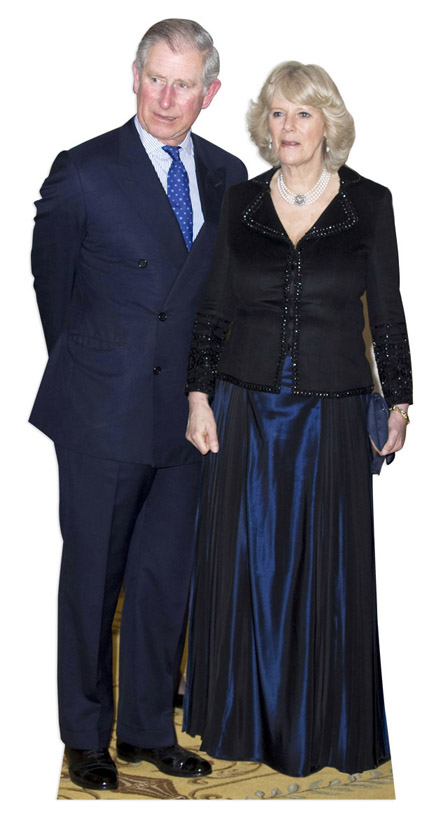 Prince Charles And Camilla Lifesize Cardboard Cutout 166cm Product Gallery Image