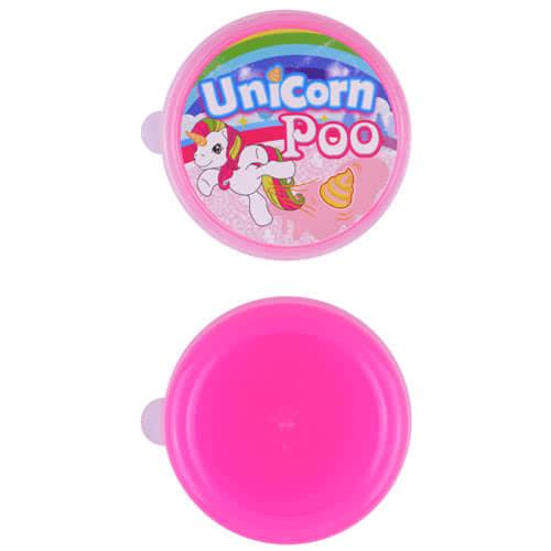 Unicorn Glitter Poo Slime 7cm - EU Certified