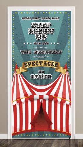 circus-tent-full-green-door-cover-pvc-banner-66cm-x-152cm-product-image