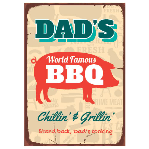 dads-bbq-chillin-grillin-26cm-x-25cm-pvc-party-sign-decoration-product-image
