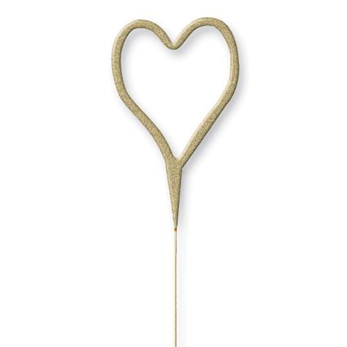 glitz-gold-heart-shape-non-hand-held-sparkler-18cm-product-image