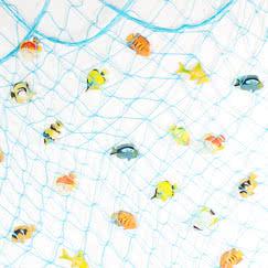 Hawaiian Party Fishing Net Decorations