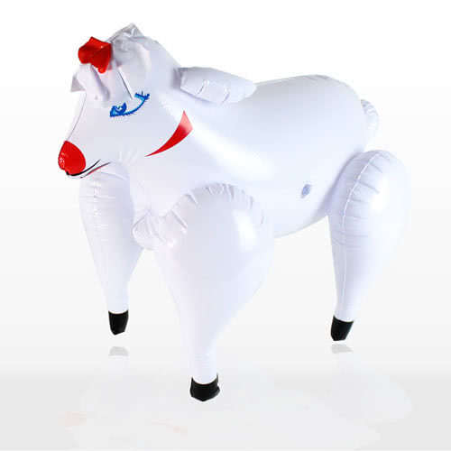 Inflatable Bonking Sheep - 21 Inches / 54cm Product Image
