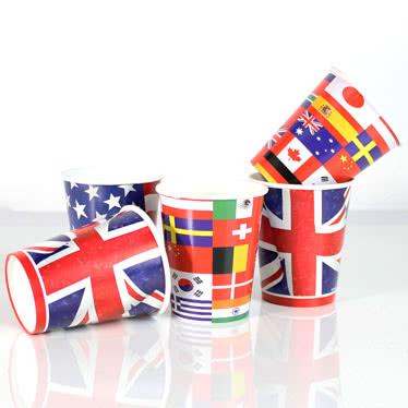 International Themed Cups