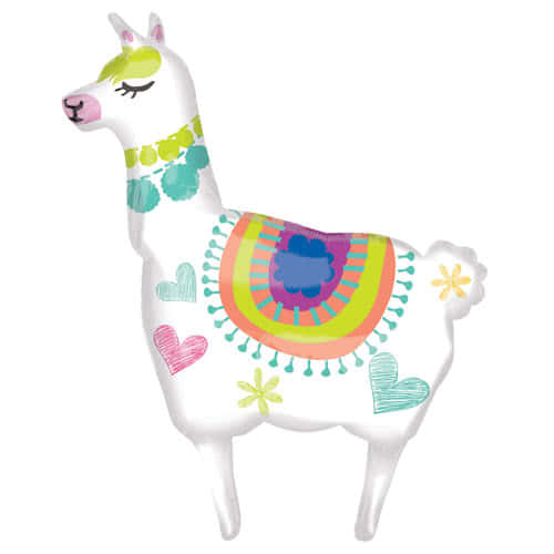 llama-supershape-helium-foil-balloon-104cm-41inch-product-image