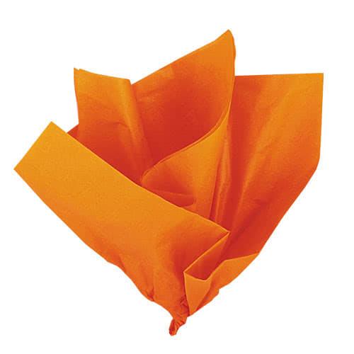 Orange Tissue Gift Paper - Pack of 10