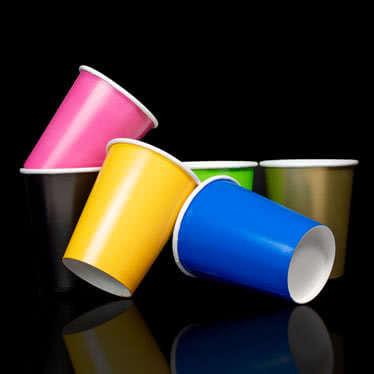Plain Colour Cups