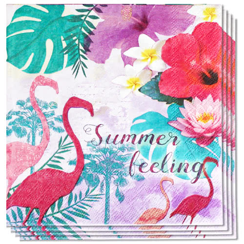 Summer Feeling Premium Luncheon Napkins 3Ply 33cm - Pack of 20 Product Image