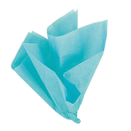 Teal Green Tissue Gift Paper - Pack of 10