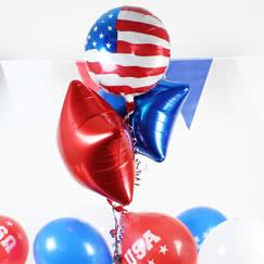 Usa Themed Party Balloon