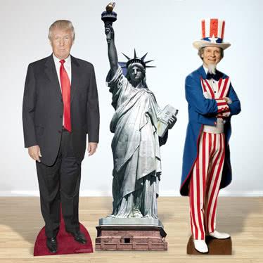 USA Lifesize Cardboard Cutouts
