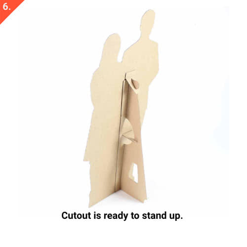 Olympics Podium Stand In Cutout - 195cm Product Gallery Image