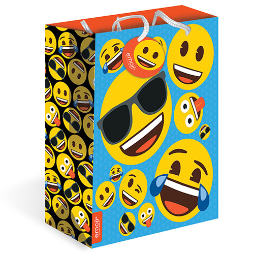 Emoji Large Gift Bag 31cm