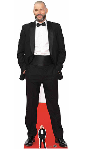 Fred Sirieix Maitre D' First Dates Lifesize Cardboard Cutout 180cm Product Gallery Image