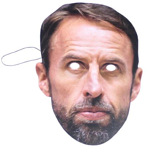 Gareth Southgate Cardboard Face Mask