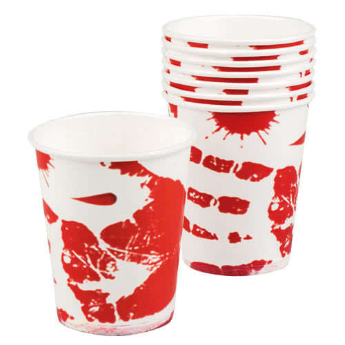 halloween-bloody-paper-cups-250ml-pack-of-6-product-image