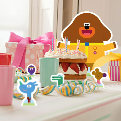 Hey Duggee Table Top Cutout Decorations - Pack of 12 Gallery Image