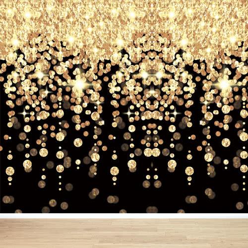 Hollywood Cascading Lights Backdrop Scene Setter Room Roll 12m