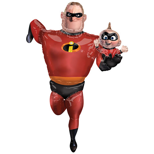 Incredibles 2 Airwalker Foil Balloon 170cm / 67 Inch