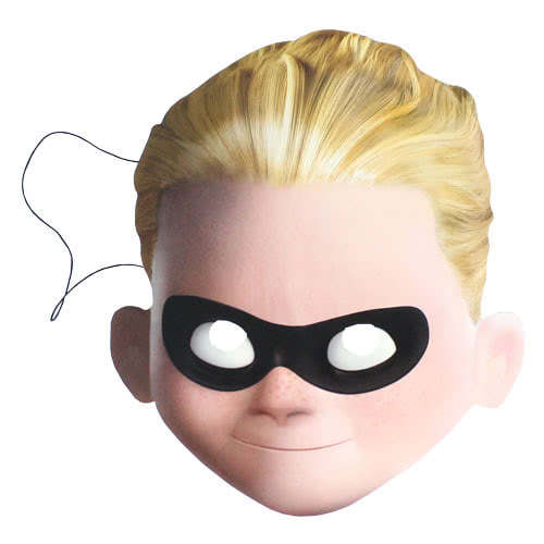 Incredibles 2 Dash Cardboard Face Mask