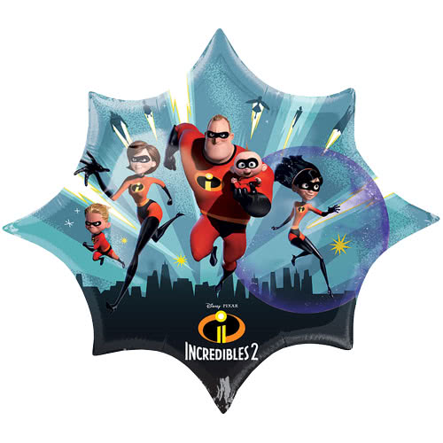 Incredibles 2 Helium Foil Giant Balloon 88cm / 35 in