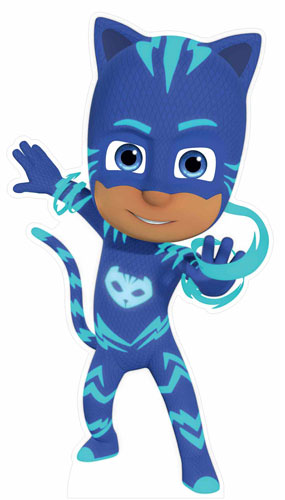 PJ Masks Catboy Star Mini Cardboard Cutout 94cm Product Gallery Image
