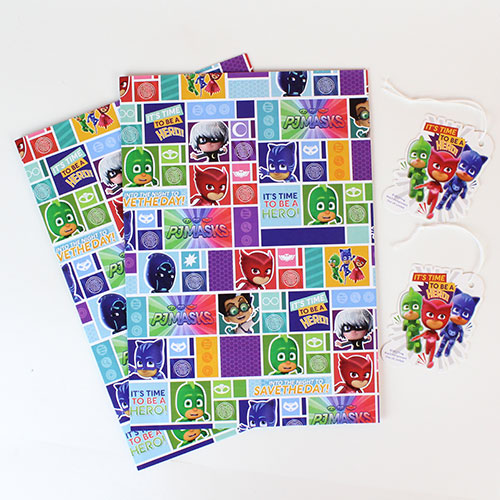 pj-masks-gift-wrapping-paper-sheets-and-tags-product-image
