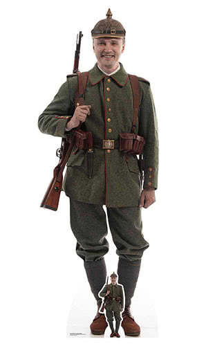 WW1 German Soldier Lifesize Cardboard Cutout 191cm Product Gallery Image