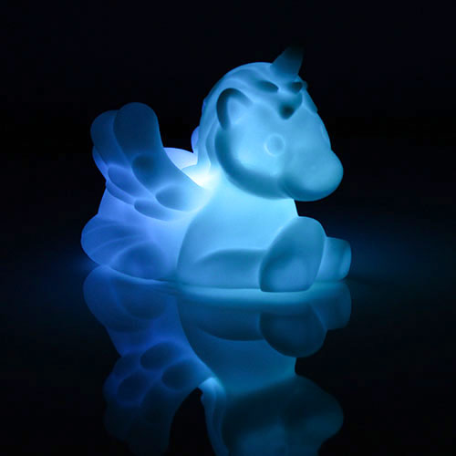 Colour Change Led Unicorn Lamp Decoration 10cm Product Gallery Image